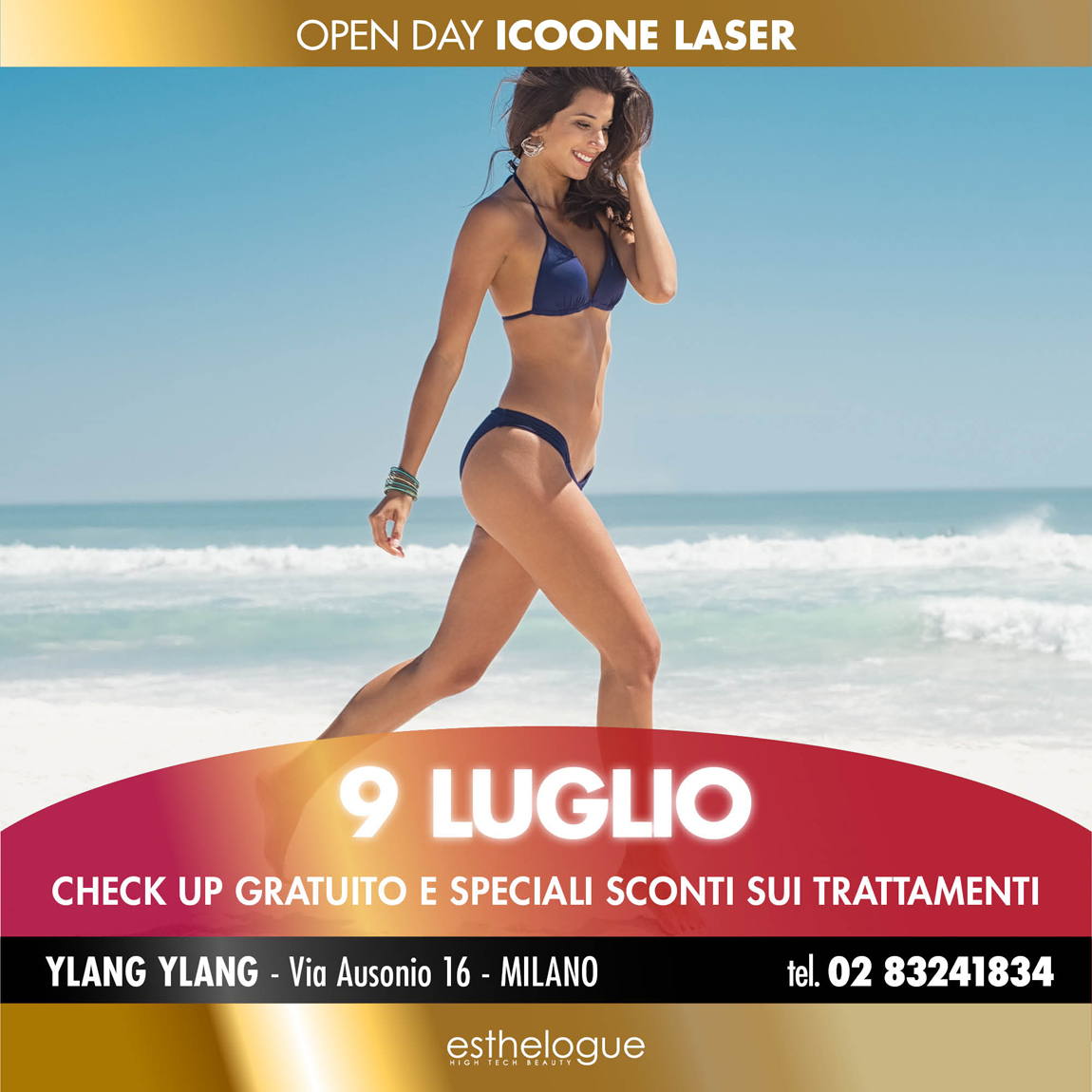Open Day 9 Luglio Icoone Laser